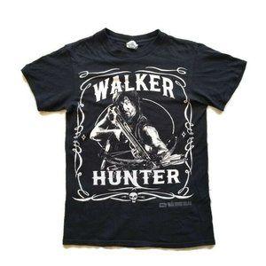 Walking Dead Daryl Dixon Black T Shirt 2014 Sz S
